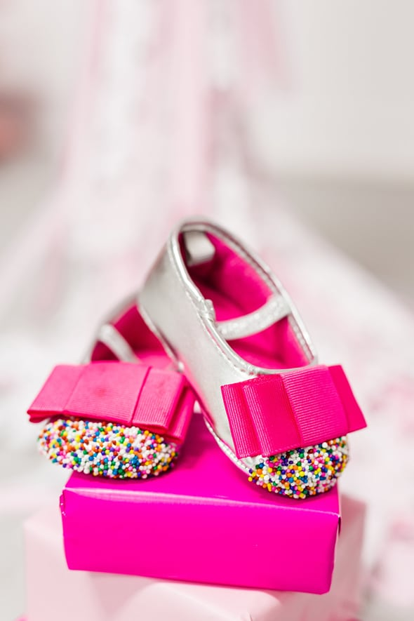 Little Sprinkles Birthday Fun Shoes | Pretty My Party
