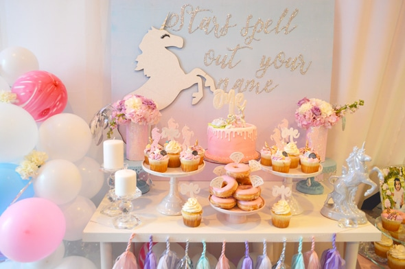 Magical Unicorn Birthday Party | Pretty My Party