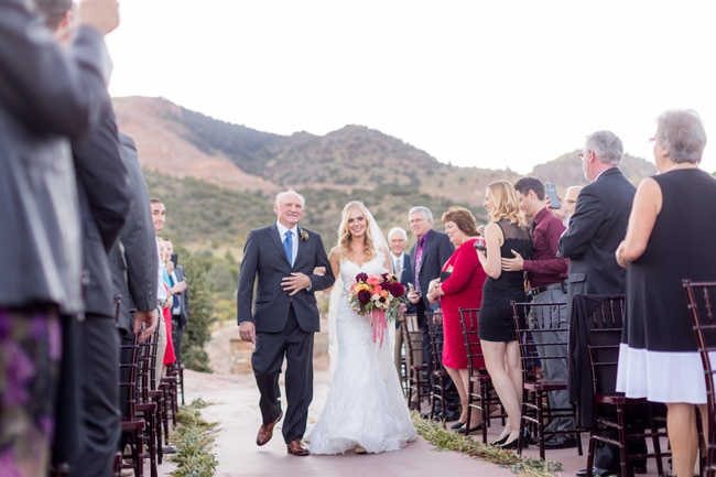 Pretty Colorado Mansion Ceremony | Pretty My Party