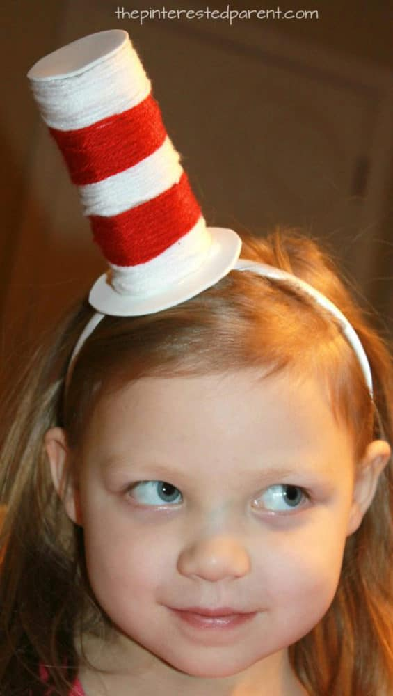 DIY Cat in the Hat Headband Hat | Pretty My Party