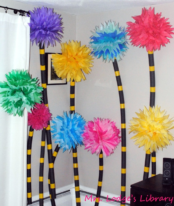 DIY Truffula Trees | Dr. Seuss Party Idea | Pretty My Party