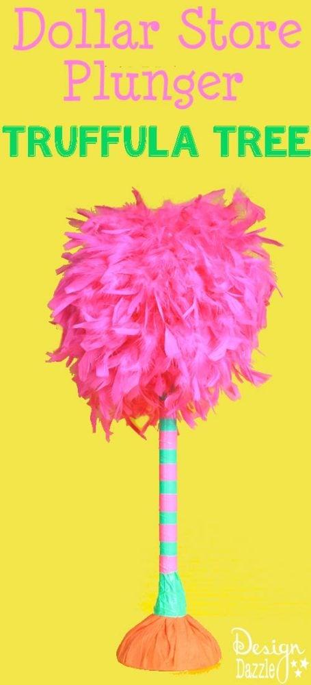 DIY Dollar Store Truffula Tree | Dr. Seuss Party Ideas | Pretty My Party