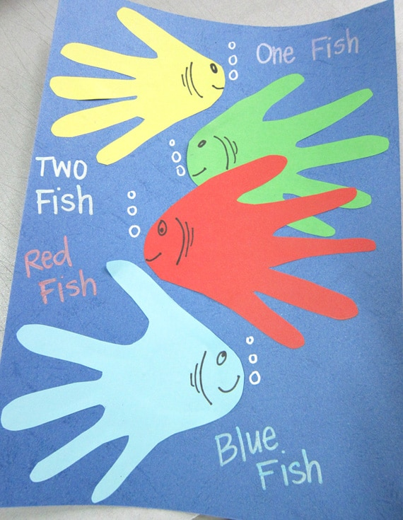 Dr. Seuss One Fish Two Fish Craft Idea | Pretty My Party