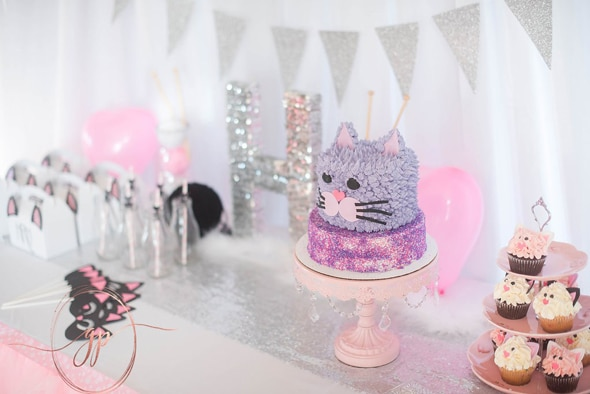 Cat Themed Birthday Party | Pretty My Party