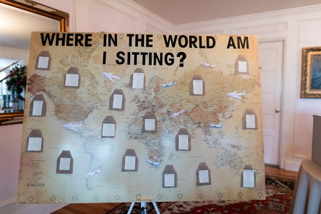 Pretty Colorado Mansion Map Seating Chart | Pretty My Party