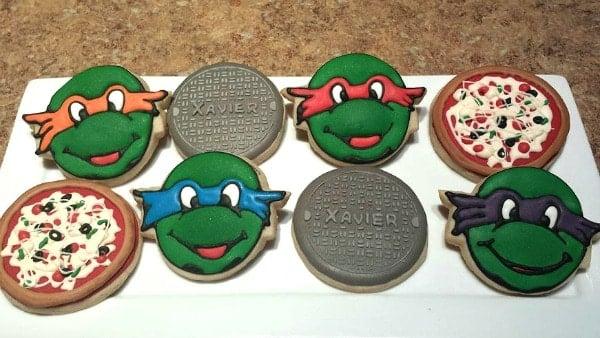 Ninja Turtle Cookies