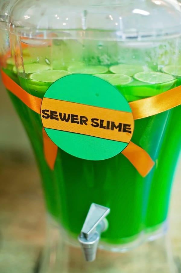 Sewer Slime - Ninja Turtle Party Drink