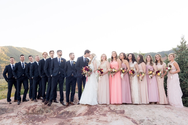 Pretty Colorado Mansion Bridal Party | Pretty My Party
