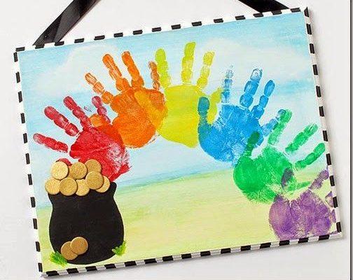 10 St. Patrick's Day Rainbow Crafts