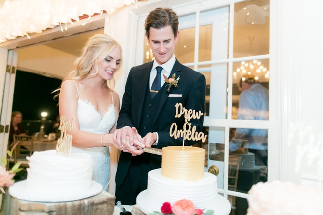 Pretty Colorado Mansion Cake Cutting | Pretty My Party