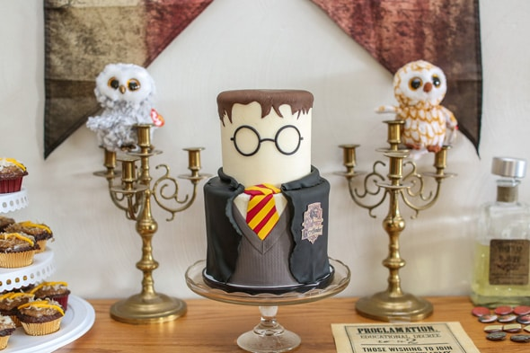Amazing Harry Potter Birthday Cake
