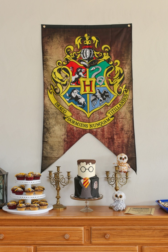 Harry Potter Party Dessert Table