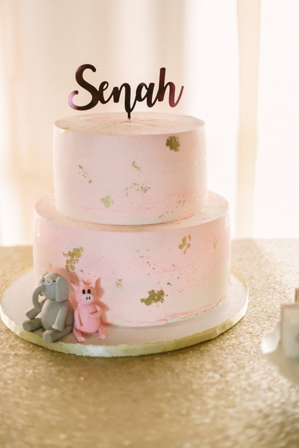 Traditional Korean Birthday Cake