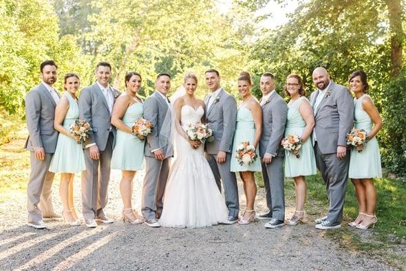 A Bright New England Estate Wedding