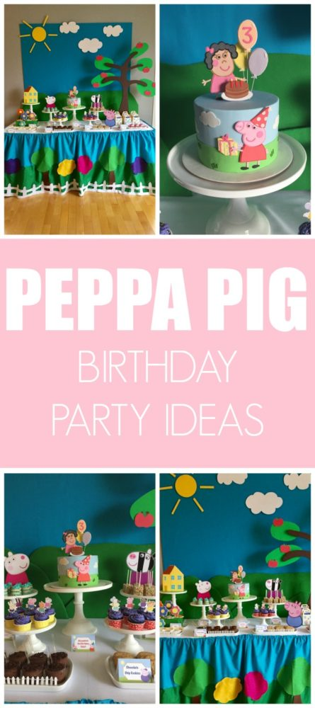 Peppa Pig Birthday Party | Pretty My Party