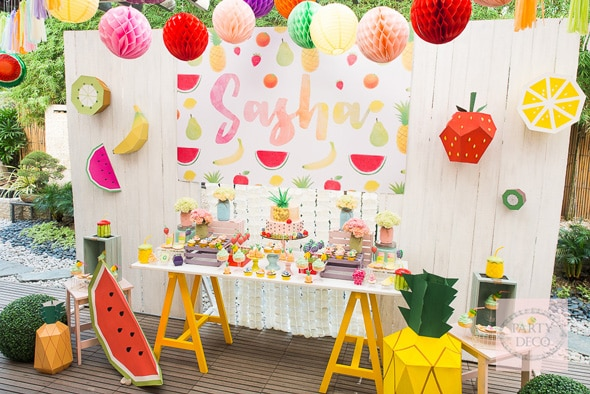 Summer Fun Tutti Frutti Party | Pretty My Party