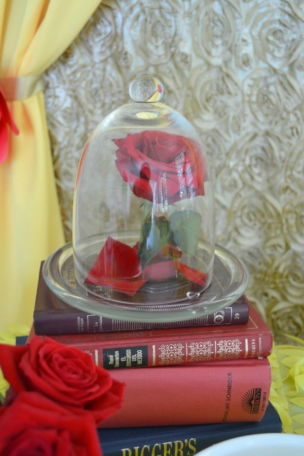 Enchanted Beauty and the Beast Birthday Party | Pretty My Party