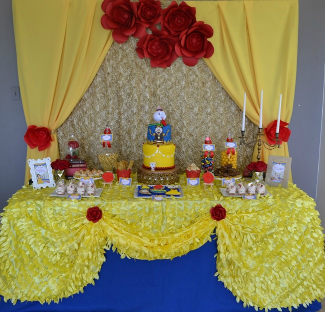 Enchanted Beauty And The Beast Birthday Party Pretty My