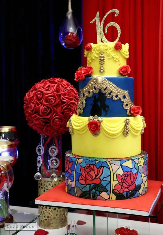 Outstanding Beauty And The Beast Party Ideas Pretty My Party Party Ideas Download Free Architecture Designs Scobabritishbridgeorg