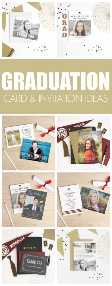 Stylish Graduation Invitation Ideas from Basic Invite | Pretty My Party