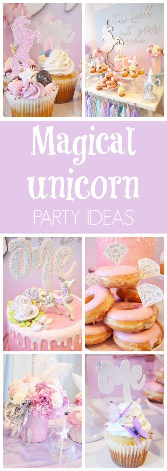 Magical Unicorn Birthday Party - Pretty My Party