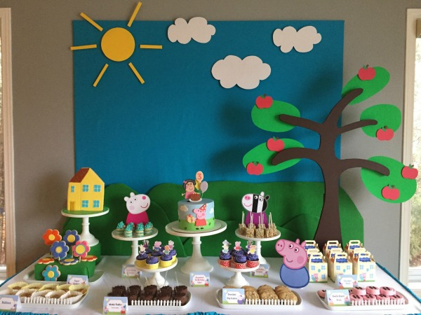 Peppa Pig Birthday Party | Pretty My Party