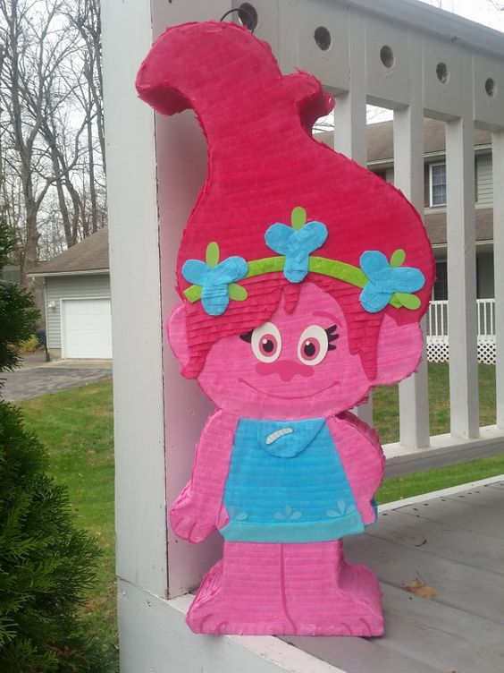 Trolls Party Piñata