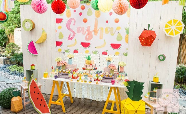 Summer Fun Tutti Frutti Party