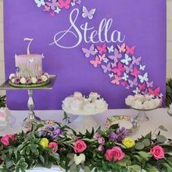 Beautiful Butterfly Birthday Celebration