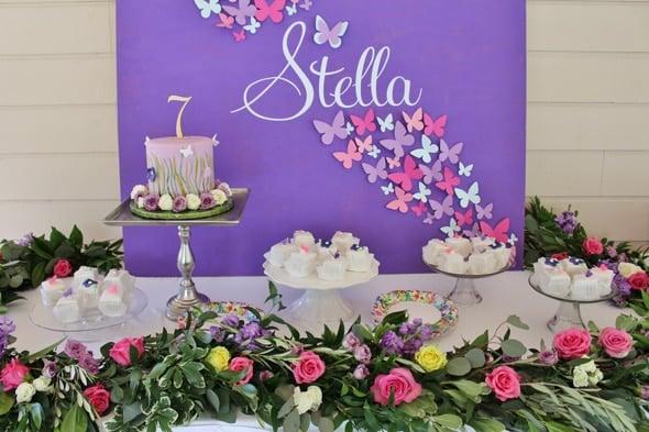 Beautiful Butterfly Birthday Celebration   Pretty My Party