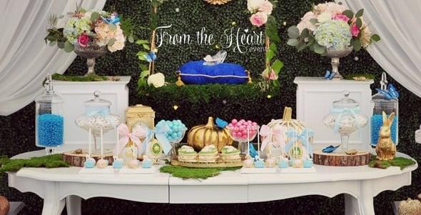 Cinderella Birthday Party   Pretty My Party