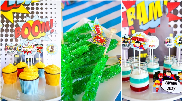 Superhero Birthday Party | Pretty My Party