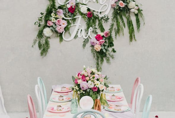 Watercolor Floral Birthday Party