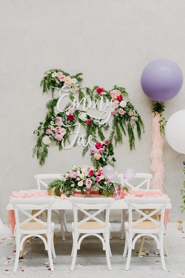 Watercolor Floral Birthday Party | Pretty My Party