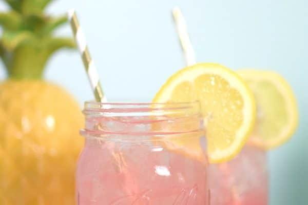 Easy Adult Pink Lemonade Recipe