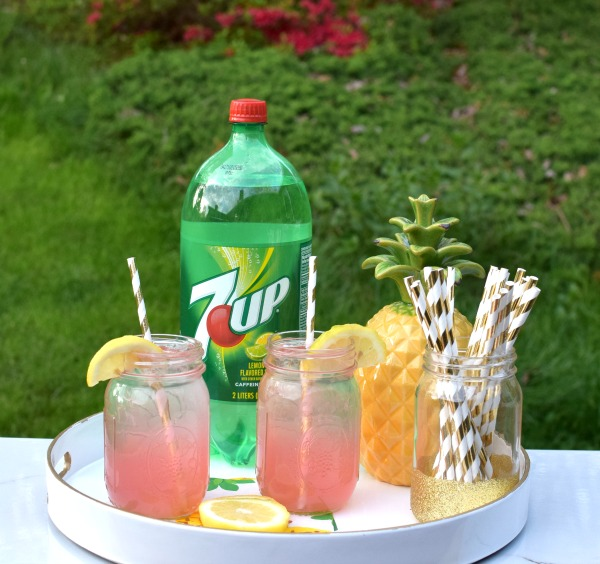 Easy Adult Pink Lemonade Recipe   Pretty My Party