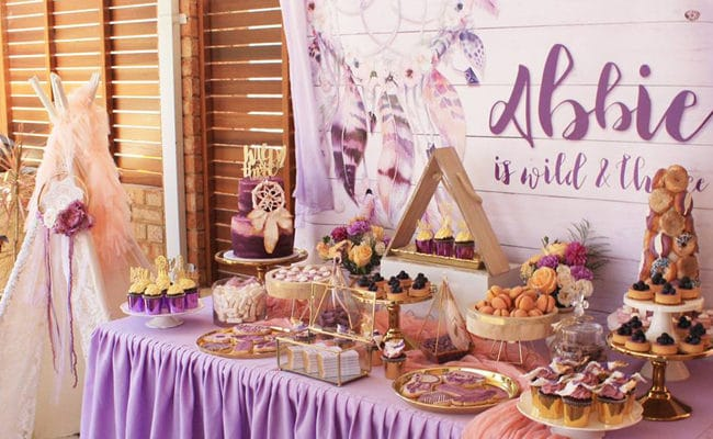 Boho Wild and Three Birthday Party