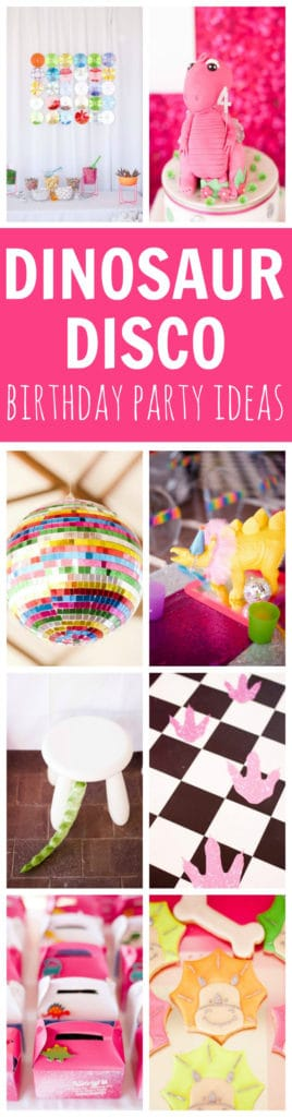 Dinosaur Disco Birthday Celebration | Pretty My Party