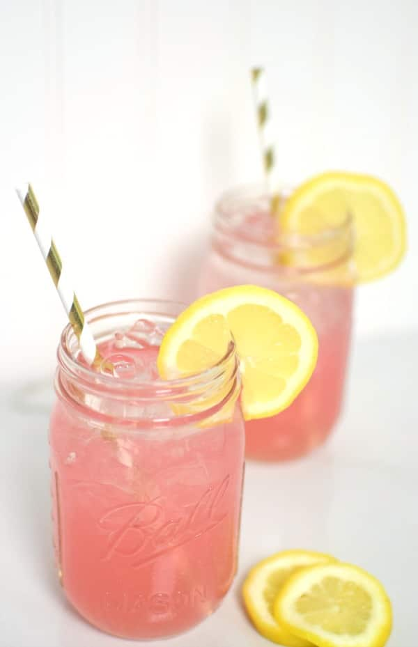 Easy Adult Pink Lemonade Recipe | Pretty My Party