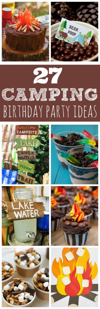 27 Camping Birthday Party Ideas | Pretty My Party