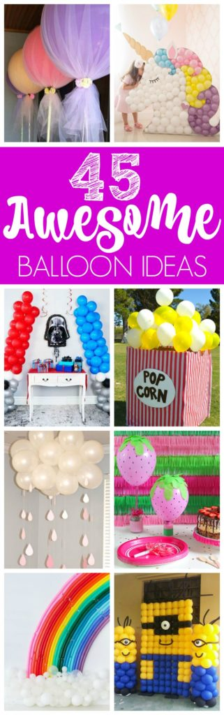 45 Awesome DIY Balloon Ideas for Parties on Pretty My Party