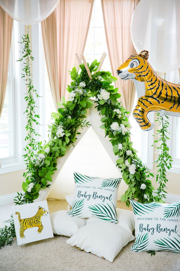 Welcome to the Jungle Baby Shower | Pretty My Party