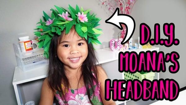 DIY Moana Headband - Moana Party Ideas