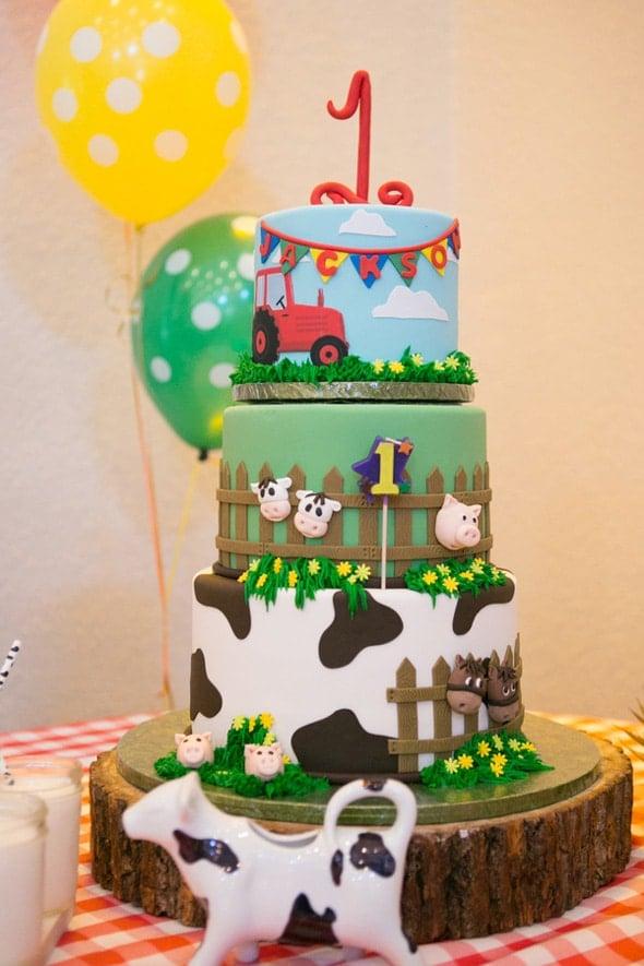 Farmyard Ranch First Birthday Party
