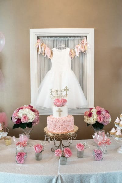 First Communion Country Club Celebration