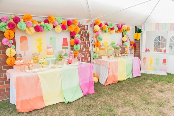 Pretty Pastel Popsicle Party | Pretty My Party