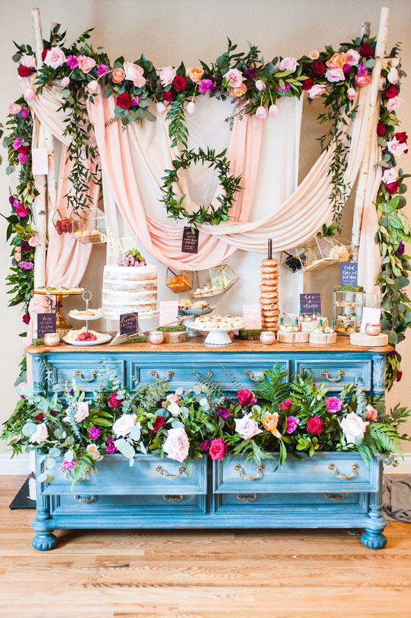 Whimsical Floral Baby Shower | Pretty My Party