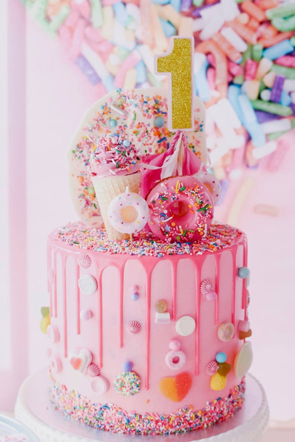 Sprinkles Cake | Freak Cakes Party Trend | Pretty My Party