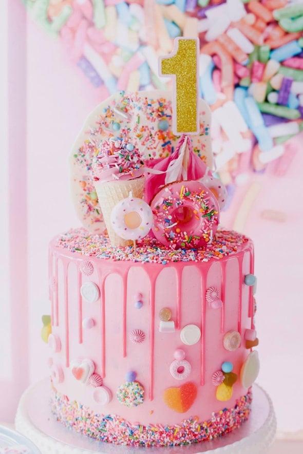 Sprinkles Cake   Freak Cakes Party Trend   Pretty My Party
