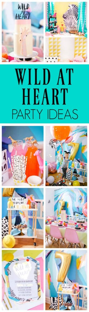 Wild at Heart Birthday Party | Pretty My Party